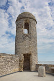 堡垒Castillo, St Augustine,佛罗里达 图库摄影