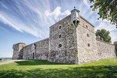 堡垒Chambly,一个全国古迹 免版税库存照片