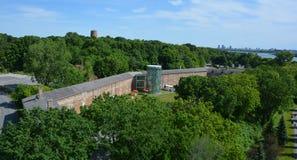 堡垒de l ` Ile Sainte海伦妮, 库存照片