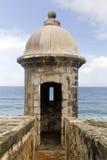 堡垒El Morro -波多里哥 库存图片