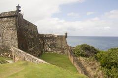 堡垒El Morro -波多里哥 免版税库存图片
