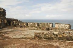 堡垒El Morro -波多里哥 库存照片