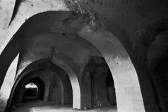 堡垒golcunda海得拉巴印度 免版税图库摄影
