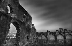 堡垒golcunda海得拉巴印度 库存图片