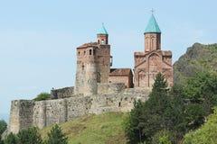 堡垒Gremi,乔治亚,欧洲 免版税库存照片