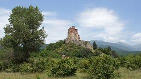堡垒Gremi,乔治亚,欧洲 免版税图库摄影