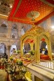 堡垒gurdwara gwalior印度madya pradesh锡克教徒 免版税库存图片