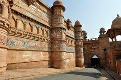 堡垒gwalior 免版税库存图片