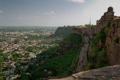 堡垒gwalior 免版税图库摄影