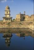 堡垒gwalior 库存照片