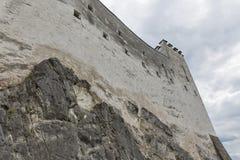 堡垒Hohensalzburg在萨尔茨堡,奥地利 免版税图库摄影