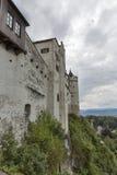 堡垒Hohensalzburg在萨尔茨堡,奥地利 库存图片