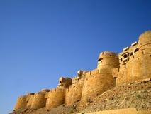 堡垒jaisalmer 免版税图库摄影