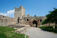 堡垒Kalemegdan在贝尔格莱德 免版税库存图片
