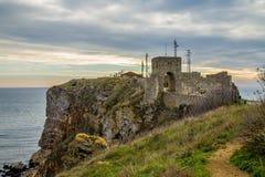 堡垒Kaliakra,保加利亚 库存照片