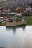 堡垒Kastel是一座城堡在科斯塔伊尼察,一个镇在中央克罗地亚 免版税库存照片