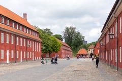 堡垒Kastellet在哥本哈根,丹麦 库存照片