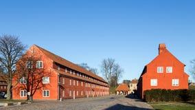 堡垒Kastellet在哥本哈根,丹麦 免版税库存图片