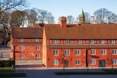 堡垒Kastellet在哥本哈根,丹麦 库存图片
