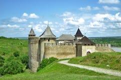 堡垒khotyn 免版税库存图片