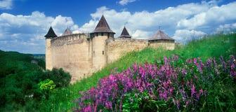 堡垒Khotyn 免版税库存照片