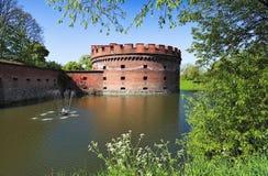 堡垒koenigsberg一 免版税库存照片