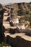 堡垒kumbhalgarh 库存照片