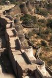 堡垒kumbhalgarh 免版税库存图片