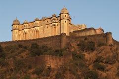 堡垒kumbhalgarh 免版税图库摄影