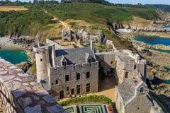 堡垒la拿铁在法国 库存照片