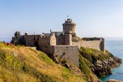 堡垒la拿铁在法国 免版税库存照片
