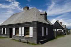 堡垒louisburg 免版税图库摄影