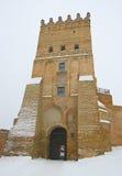 堡垒lutsk乌克兰 免版税库存图片