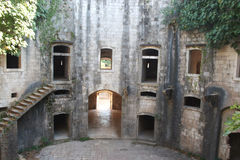 堡垒Mamula 免版税库存照片