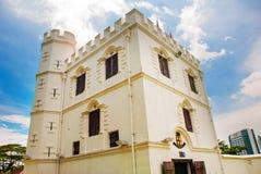 堡垒Margherita在古晋 沙捞越 马来西亚 自治市镇 免版税库存图片