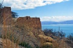 堡垒masada 免版税图库摄影