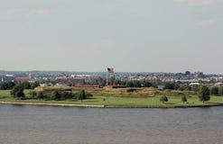 堡垒McHenry,巴尔的摩,马里兰 免版税库存图片