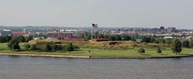 堡垒McHenry,巴尔的摩,马里兰 库存图片