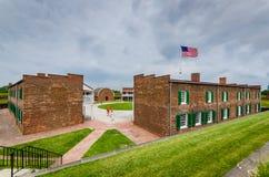 堡垒McHenry -巴尔的摩, MD 免版税库存照片