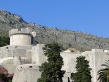 堡垒Minceta,杜布罗夫尼克,克罗地亚 图库摄影