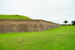 堡垒Moultrie在查尔斯顿,南卡罗来纳 库存照片