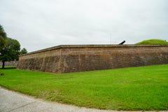 堡垒Moultrie在查尔斯顿,南卡罗来纳 免版税图库摄影