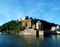 堡垒niederhaus 免版税库存图片