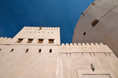 堡垒nizwa 免版税库存照片