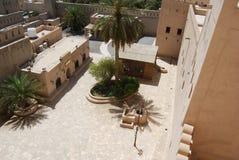 堡垒nizwra阿曼 免版税库存照片