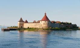 堡垒oreshek shlisselburg 库存照片