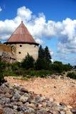 堡垒oreshek shlisselburg 免版税库存照片