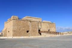 堡垒paphos 库存照片