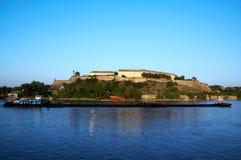堡垒petrovaradin 库存照片