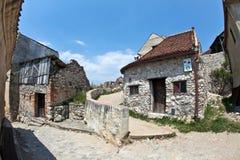 堡垒rasnov transylvania 免版税库存图片